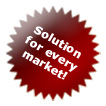 SOLUTION FOR EVERY MARKET